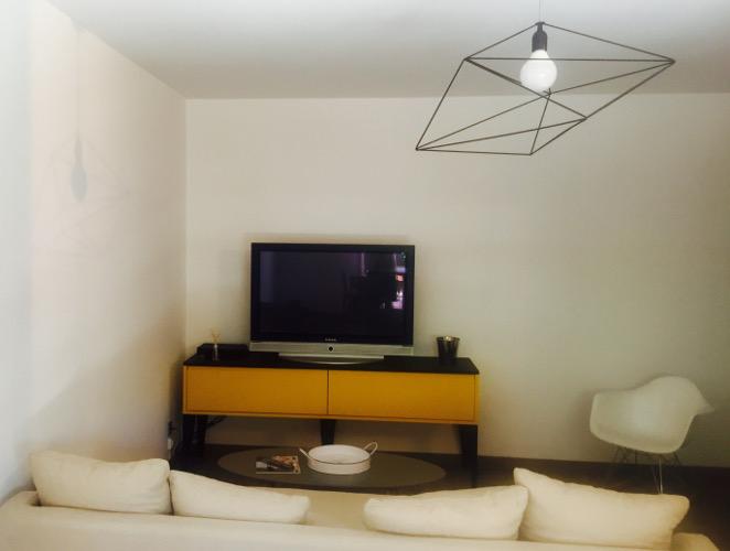 meuble salon jaune montpellier