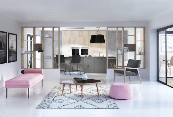 cuisine sur mesure meubles et quipements. Black Bedroom Furniture Sets. Home Design Ideas