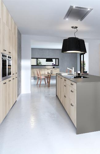 meubles cuisines bois clair egerie