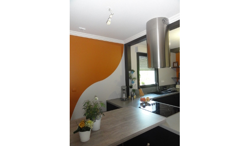 cuisine-mur-orange-laval