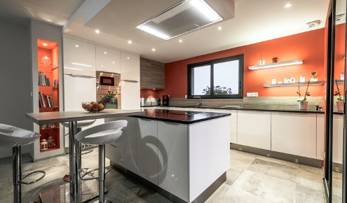 cuisine-mur-orange-saint-branch