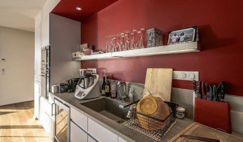 cuisine aménagée - réalisations tours - chambray-lès-tours - Cuisiniste Chambray Les Tours