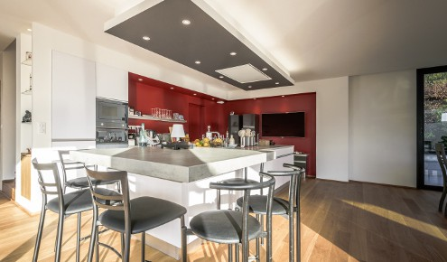 cuisine-rouge-blanche-chambray-tours