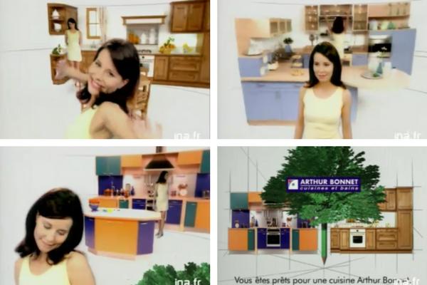 cuisiniste-arhur-bonnet-spot-TV-1998