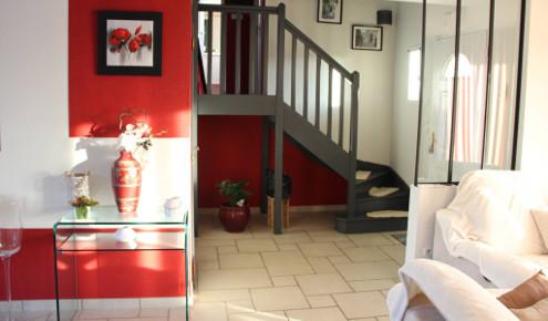 cuisine-sur-mesure-escalier-le-mans