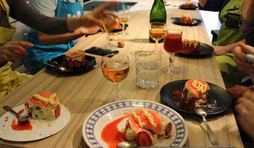 cours-cuistot-degustation-dessert-part-fraisier-brest
