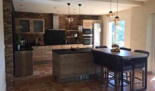 cuisine am nag e r alisations cannes. Black Bedroom Furniture Sets. Home Design Ideas