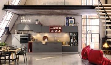 Cuisines quip es cuisines am nag es cuisine moderne for Decoration cuisine urbaine