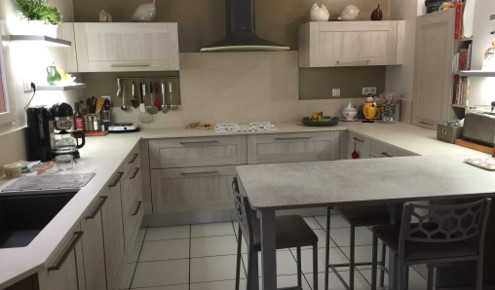 Cuisine aménagée - Réalisations Chalon-sur-Saone