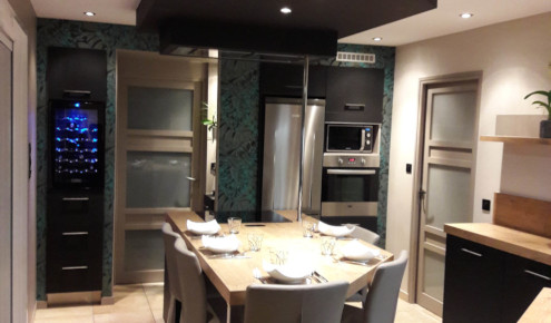 cuisine-amenagee-ilot-central-angers