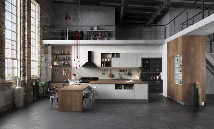 Cuisine style industriel Harmonie loft - Arthur Bonnet